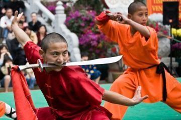 Šaolinio vienuoliai atidarė interneto parduotuvę