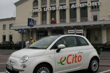 Vilniaus oro uoste pradedama teikti dalinimosi automobiliais paslauga