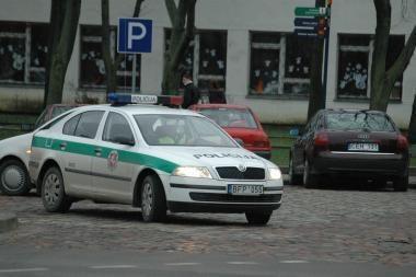 Uostamiestyje susidūrė trys automobiliai