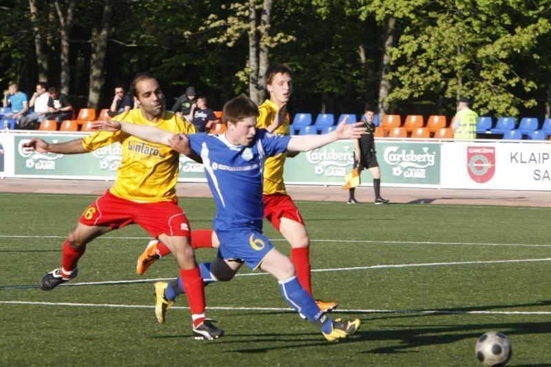 Prabilta apie Klaipėdos futbolo klubų susijungimą
