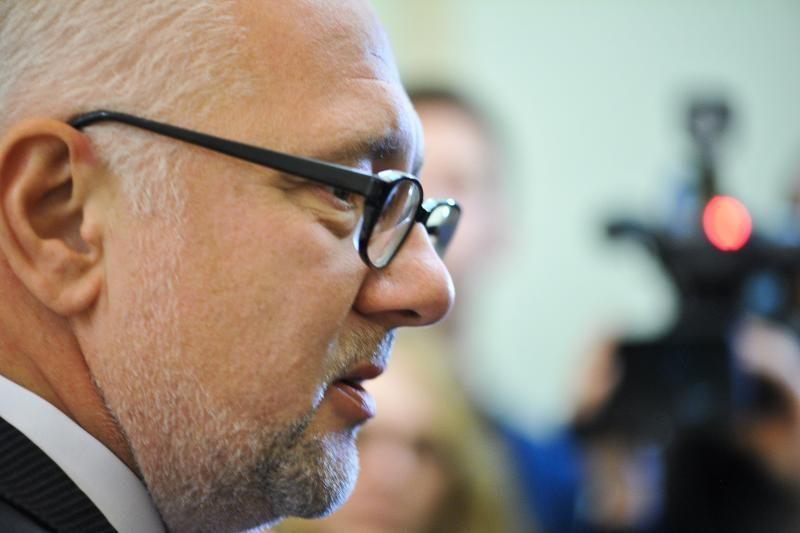 D. Pavalkis žvalgosi po uždaromas lietuvių mokyklas Lenkijoje