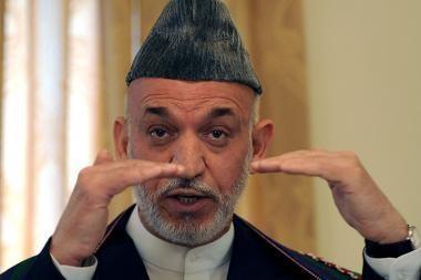 Afganistano prezidentas Karzai pripažino gaudavęs