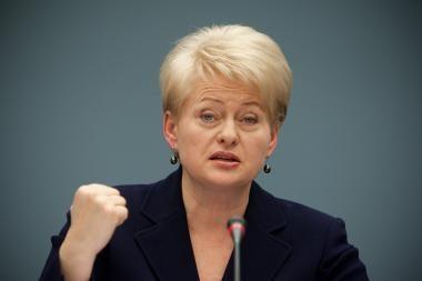 D.Grybauskaitė: ES prezidentas belgas - naudingas Lietuvai
