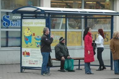 Klaipėdoje- trys naujos autobusų stotelės