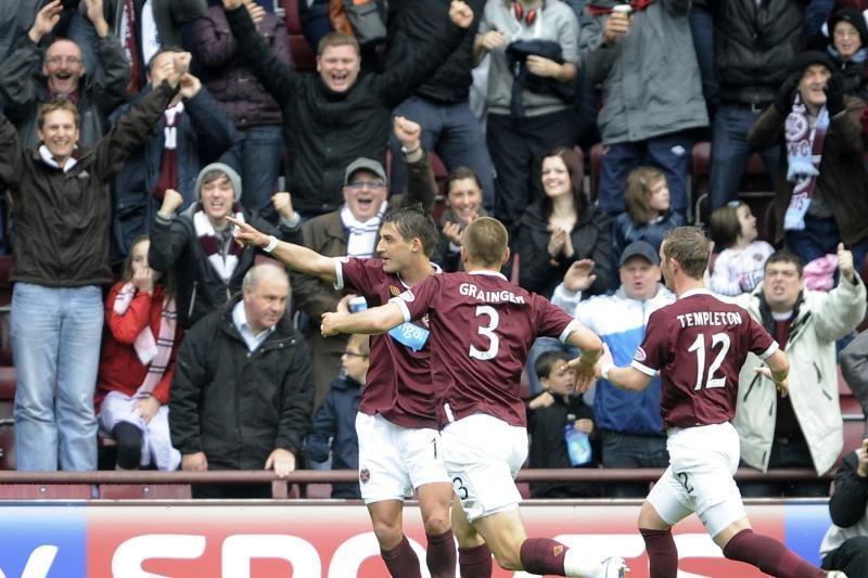 """Hearts"" iškovojo pergalę Edinburgo derbyje"