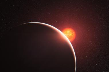 Pirmąkart aptikta superžemės atmosfera
