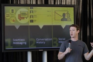 """""""Facebook"""" pristatė naują pranešimų paslaugą"""