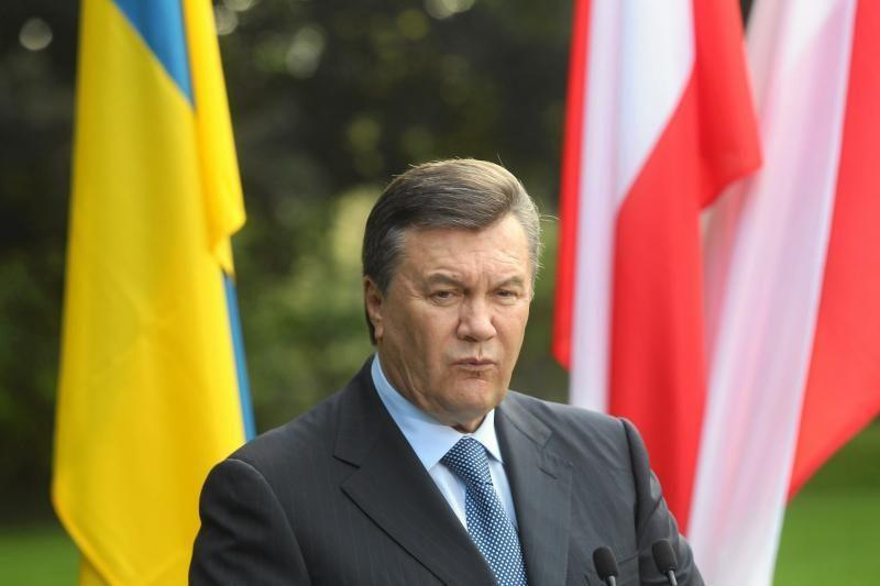 V.Janukovyčius kol kas nepriėmė sprendimo dėl kalbos įstatymo