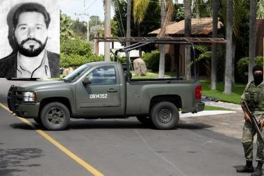 Meksikoje nužudytas įtakingo narkotikų kartelio lyderis