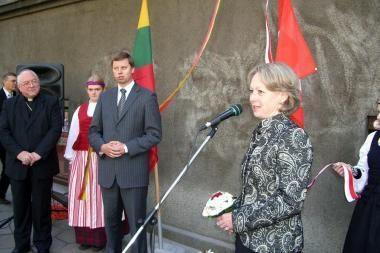 Apie Šveicarijos konsulatą primins atminimo lenta