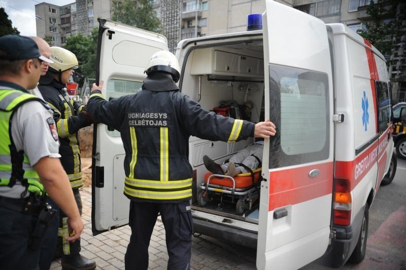 Latvijoje per avariją sužeisti 5 lietuviai
