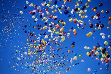 Į dangų skris balionai su vaikų svajonėmis