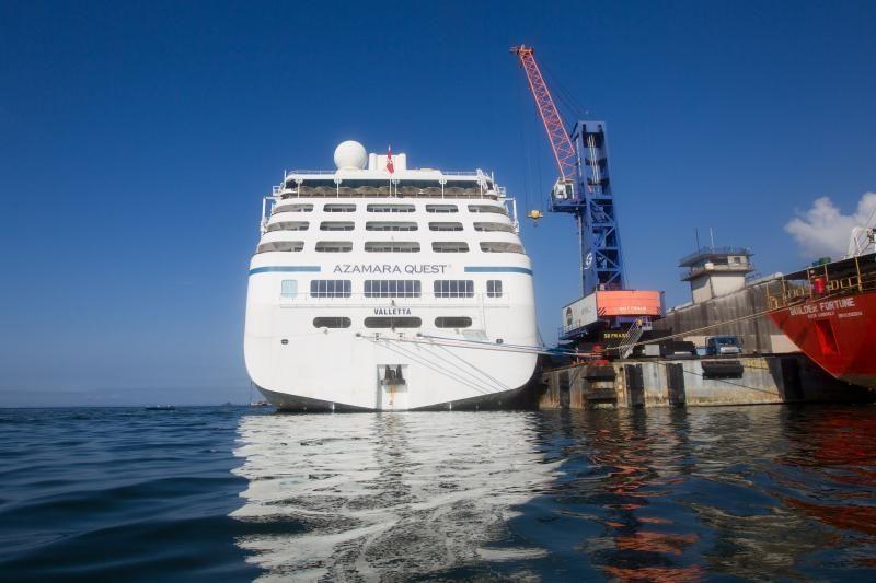 Malaizijoje baigėsi kruizinio laivo drama