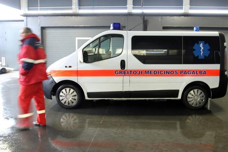 Vilniuje susidūrus automobiliams žuvo vyras