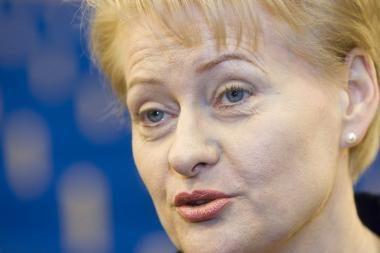 """The Economist"" grupės leidinys ironiškai kritikuoja D.Grybauskaitę"