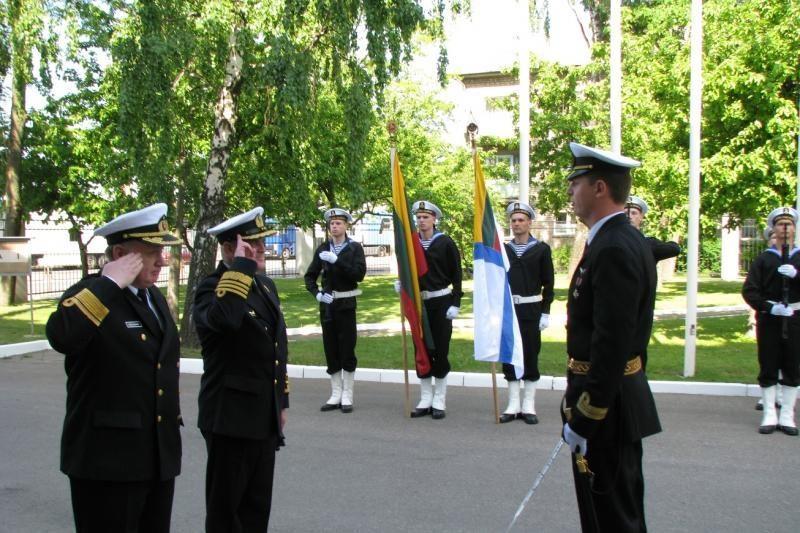 Klaipėdoje - Karinių jūrų pajėgų atkūrimo metinių minėjimas