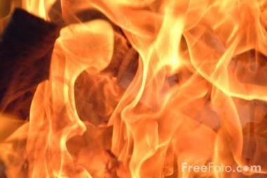 Tyčinis padegimas Kauno rajone