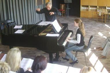 Koncerte – iki šiol Lietuvoje dar neskambėję kūriniai