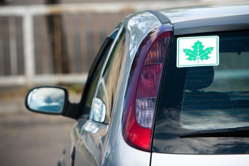 Automobilio registracijos pažymėjimą bandė įvertinti 50 litų