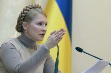 Ukrainos parlamentas atleido J.Tymošenko vyriausybę