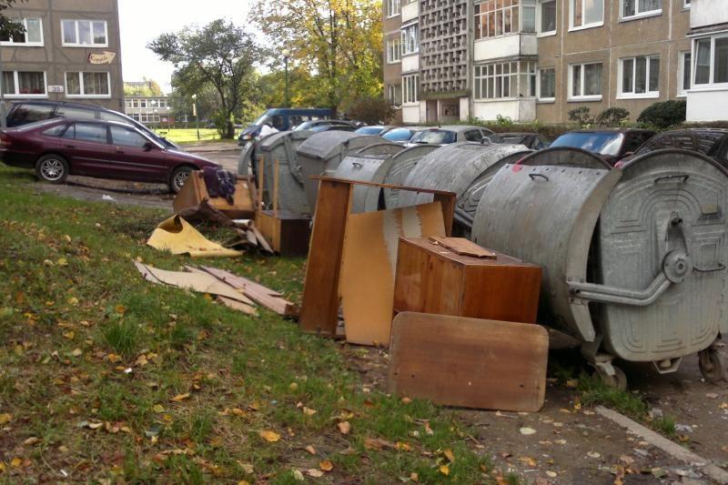 Vilniaus atliekų tvarkymo centro projektui svyla padai