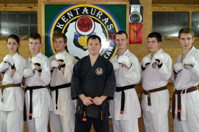 Tarp Europos šotokan karatė čempionato dalyvių – tituluoti lietuviai