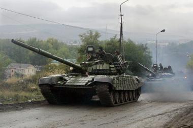 Sumažinta Pietų Osetijos armija