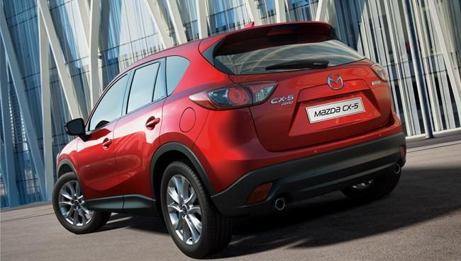 """Mazda CX-5""  visureigis pelnė apdovanojimą"