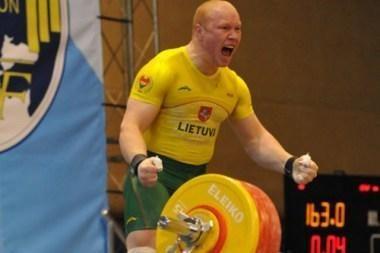 A.Didžbalis rekordo nepasiekė, bet medalius susišlavė