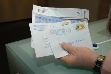 Elektrėnuose atidarytas naujas pašto skyrius