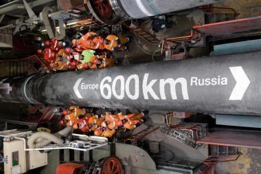 """""""Nord Stream"""" tiesimas įpusėjo"""