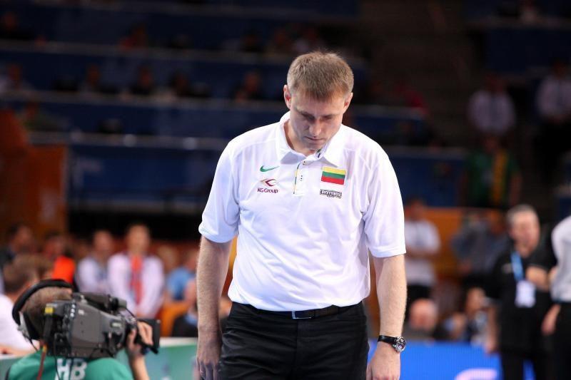 M.Dokuzovskis: sakiau, kad rungtynėse su rusais nusisukusi sėkmė grįš