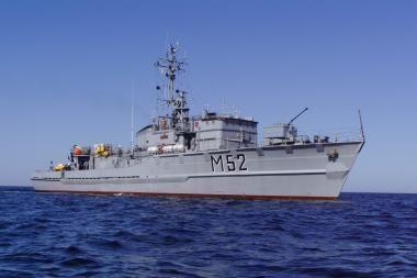 """""""Sūduvis"""" priskiriamas jūrų pajėgų eskadrai BALTRON"""