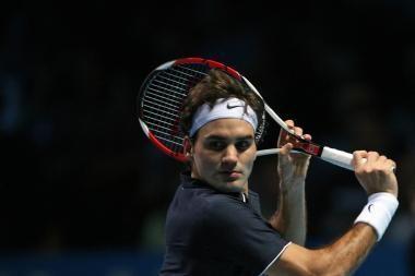 ATP serijos Londono teniso turnyre šveicaras žaidžia pergalingai