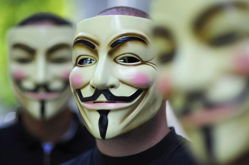 """""""Anonymous"""" atakavo Kinijos valdžios interneto svetaines"""