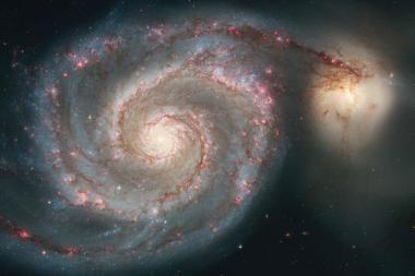 Mokslininkai sumodeliavo galaktikų spiečių susidūrimą