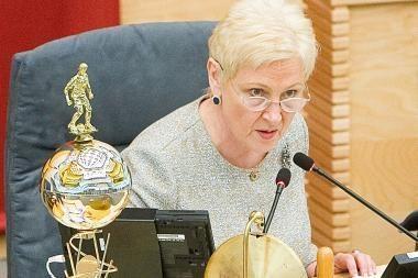 Seimo pirmininkė: įsisenėjusios Lenkijos lietuvių problemos lieka neišspręstos