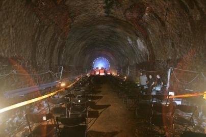 Tęsiama geležinkelio tunelio rekonstrukcija