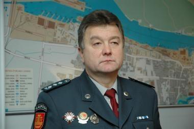 Išrinktas Klaipėdos apskrities policijos viršininkas