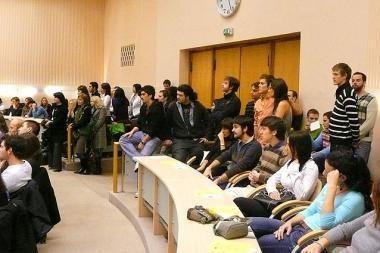Užsieniečius studentus pasveikino miesto meras