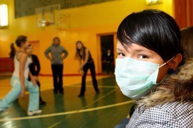 Dėl gripo dalis Kauno rajono mokyklų užsidaro