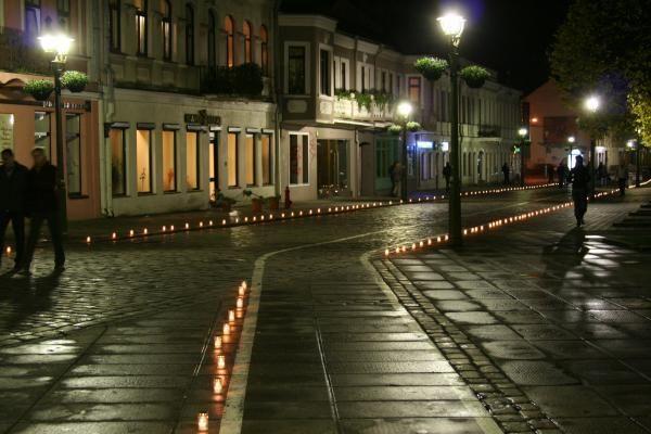 Tūkstančiai žvakelių vėl nušvies Kauno senamiestį