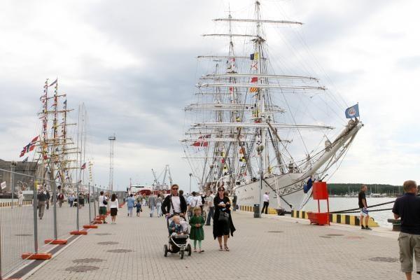 "Regatą ""The Culture Tall Ships Regatta"" klaipėdiečiai aptars Norvegijoje"