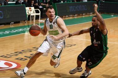 Graikijos krepšinio apdovanojimų sieks trys lietuviai