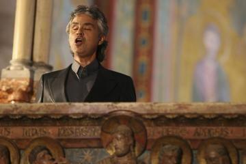 Vilniuje koncertuos Andrea Bocellis