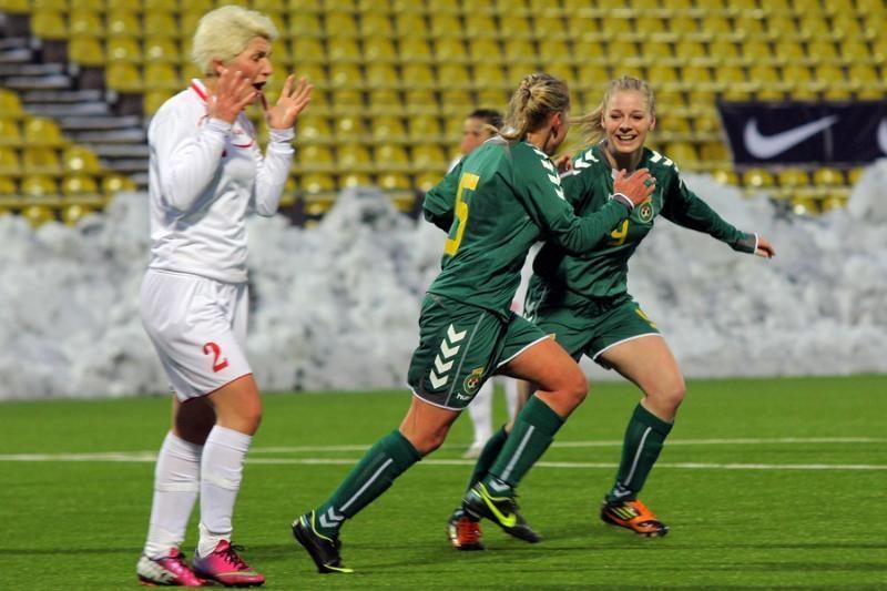 Startuoja Lietuvos moterų futbolo čempionatas