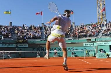 ATP serijos vyrų teniso turnyre Ispanijoje paaiškėjo pirmieji aštuntfinalio dalyviai