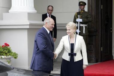 Trečiadienį D.Grybauskaitė vyksta į Baltarusiją (papildyta 15.55 val.)