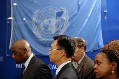 Lietuva pirmininkauja JT konferencijai