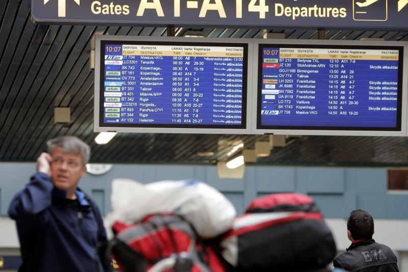 Į Turkiją lėktuvas iš Vilniaus išskrido vėluodamas beveik 9 valandas